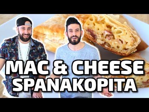 MAC & CHEESE SPANAKOPITA!!! w/ Tyler Lemco