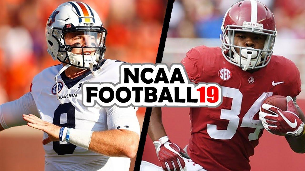 Auburn @ Alabama - 11-24-18 NCAA Football 19 Week 13 Simulation