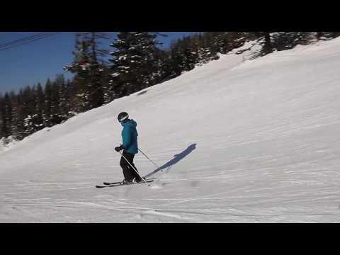 Skiers At Whitefish Resort, Montana