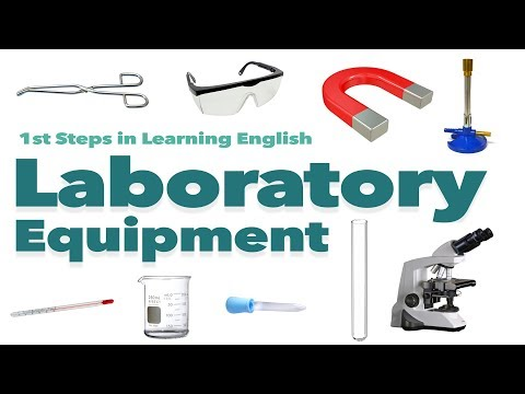 English Vocabulary - LABORATORY EQUIPMENT