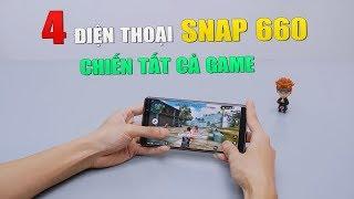top 4 điện thoại snapdragon 660 tầm trung chiến tất cả game nặng