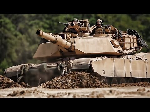 M1A1 Tanks Roll Through Training At Camp Lejeune