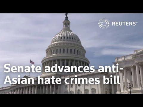U.S. Senate advances anti-Asian hate crimes bill
