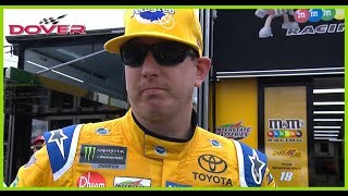 Kyle Busch On Broken Drive Shaft: 'It Just Kept Getting Worse And Worse'