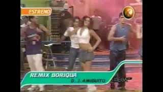 REMIX BORIQUA ESTRENO EN MEKANO 2004 (VHS RIP) ® Manuel Alejandro 2015.