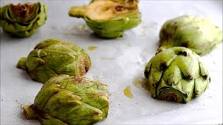 How to make Oven Roasted Artichokes Recipe