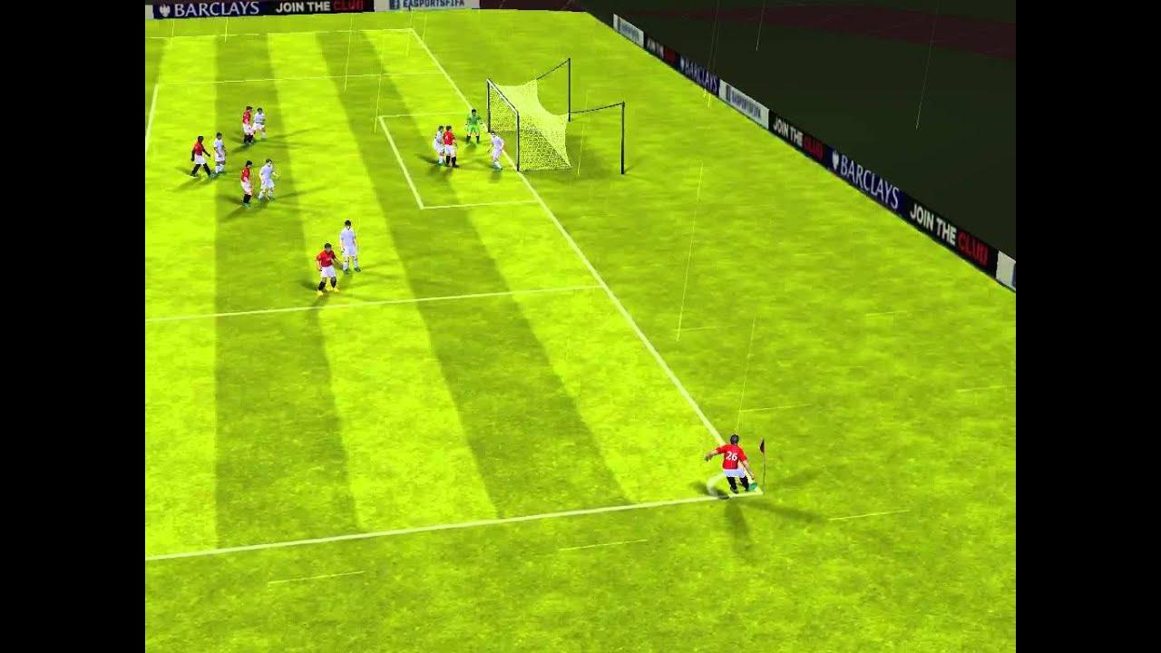 Fifa 13 iphone ipad spurs vs manchester utd youtube for Alexandre dujardin