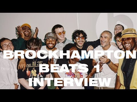 BROCKHAMPTON Discusses Their New  Ginger During an  With Zane Lowe on Beats 1