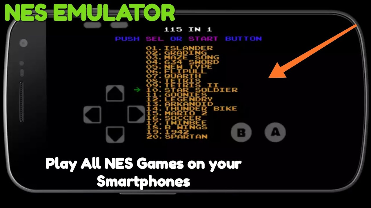 BEST NES EMULATOR | 81 in 1 | Android Gameplay