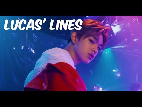 Every Nct Mv But It's Only Lucas' Lines