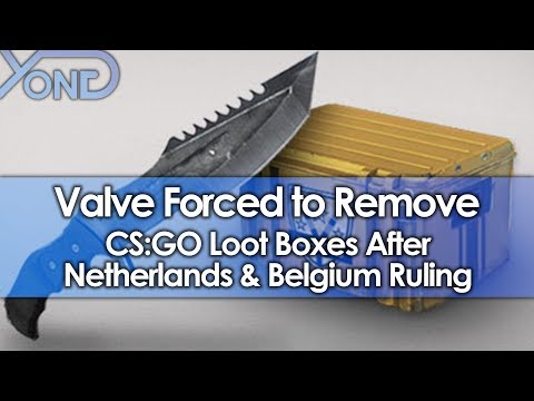 Valve Forced to Remove CS:GO Loot Boxes After Netherlands and Belgium Ruling