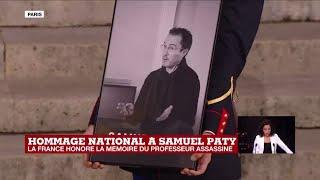 Hommage à Samuel Paty : la Marseillaise retentit à la Sorbonne suivi d'une minute de silence
