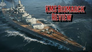 KMS Bismarck Review - World of Warships Blitz