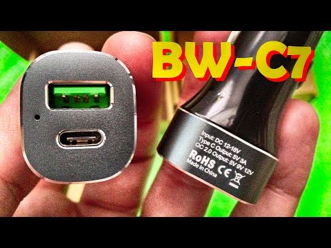 BlitzWolf BW-C7 Quick Charge 3.0 Car Charger