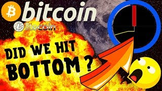 🔥 BITCOIN DID WE HIT BOTTOM? 🔥bitcoin litecoin price prediction, analysis, news, trading
