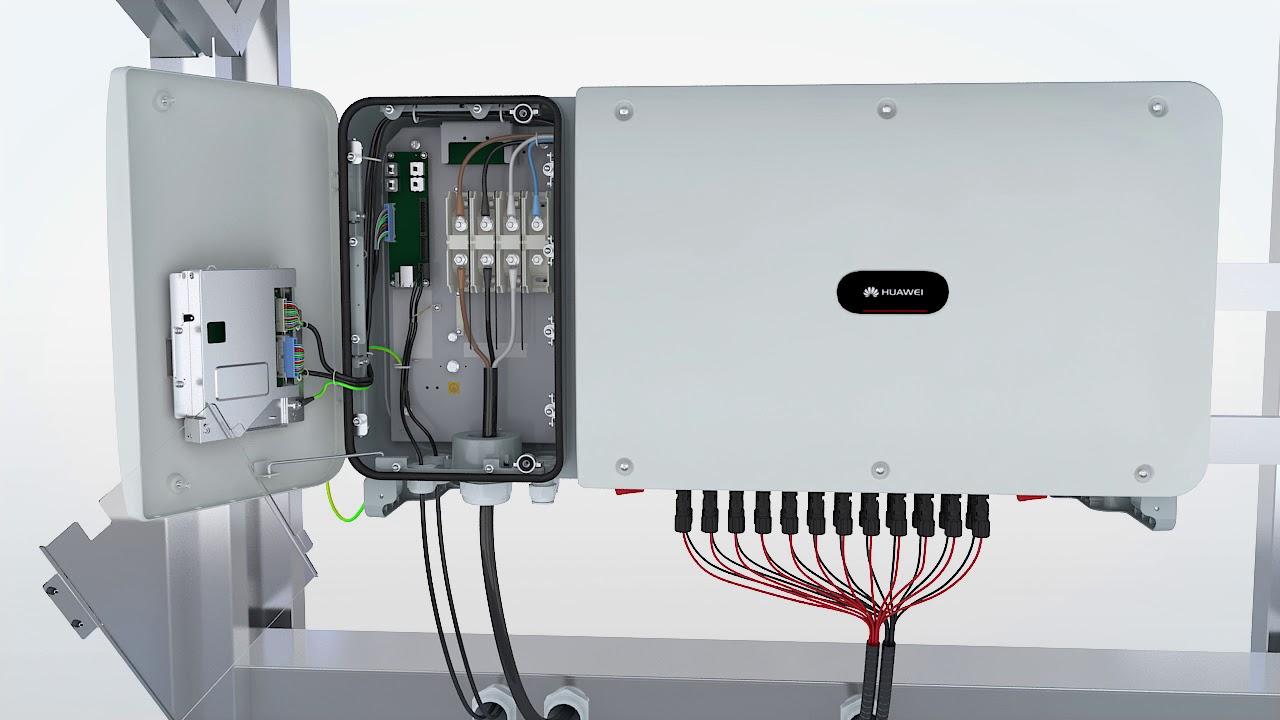 Huawei SUN2000-(50KTL, 60KTL)-M0: 09 Verifying the Installation