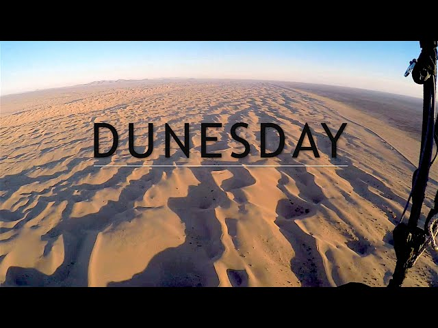 DUNESDAY!! Flying Glamis Dunes!!