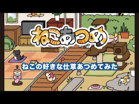 【ねこあつめ】好きな猫の仕草ランキング!
