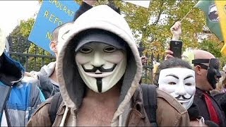 »Million Mask March« in Washington DC