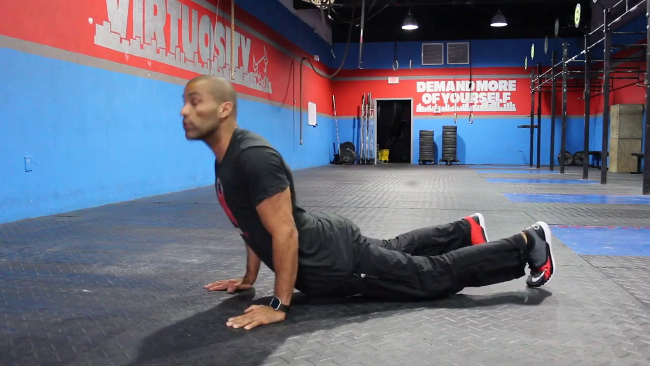 Bodyweight Superset: Hindu Push Ups & Hindu Squats