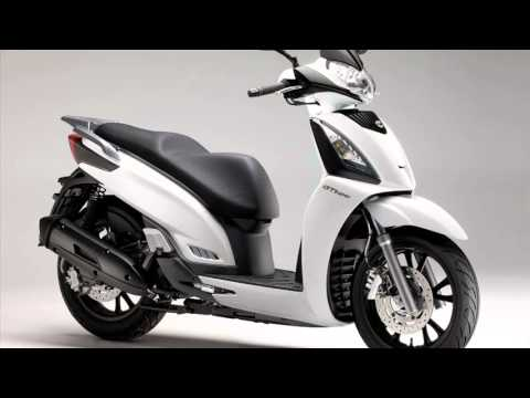 kymco people gti 125 cc - youtube