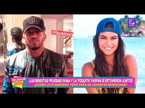 ¡Las benditas pruebas!: Ivana Yturbe y Jefferson Farfán sí estuvieron juntos