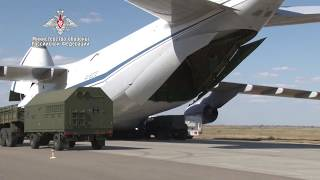 Second phase of S-400 delivery to Turkey complete - Russian MoD Video