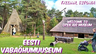 Eesti Vabaõhumuuseum / Estonian Open Air Museum Tallinn / Visit Estonia / VLOG 63
