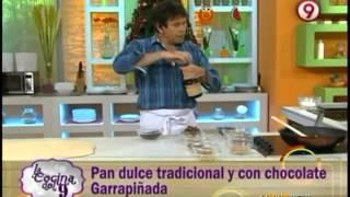 Pan dulce tradicional y con chocolate Garrapiñada en La Cocina del 9