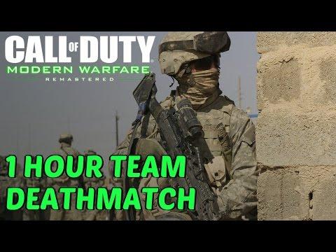 Call Of Duty: Modern Warfare Remastered - 1 Hour Team Deathmatch Multiplayer Gameplay Part 1