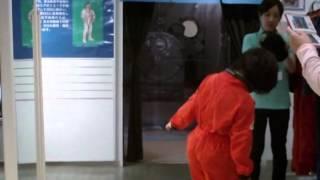 2012年7月21日 島根県大田市の三瓶自然館サヒメルに遊びに行きました。 宇宙飛行士になって、きぼうに搭乗??? 企画展「宇宙旅行は夢じゃない...