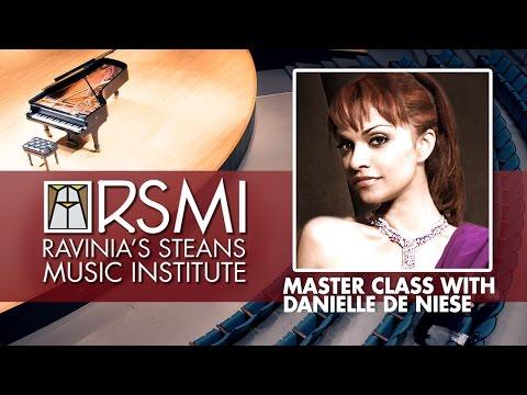 RSMI Master Class with Danielle de Niese 2016