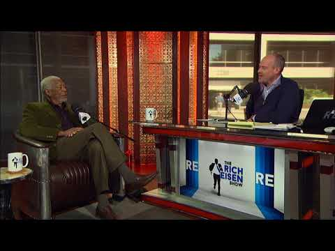 Actor Morgan Freeman Names His Favorite Morgan Freeman Film   The Rich Eisen Show   12/6/17