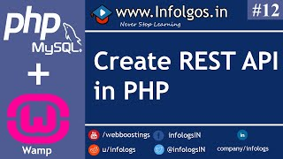 How to make RESTFul APIs with MySQL using PHP for Mobile Application.