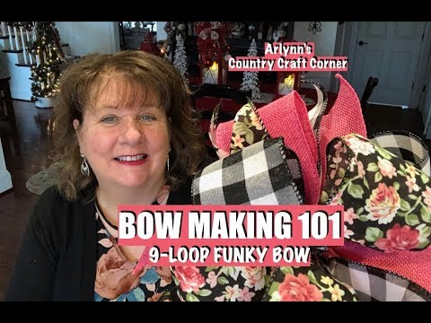*NEW SERIES* 🎀 BOW MAKING 101 🎀 9-Loop Funky Bow