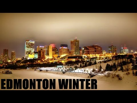 WINTER EDMONTON ALBERTA YEG (THINGS TO DO IN EDMONTON ALBERTA WINTER)