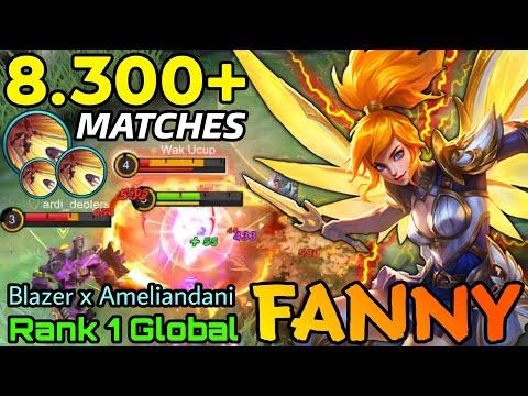 8.300+ Matches Fanny Aggressive Play - Top 1 Global Fanny by Blazer x Ameliandani - MLBB