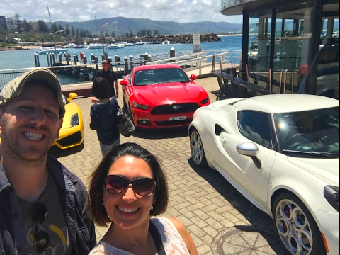 Driving Supercars in Sydney