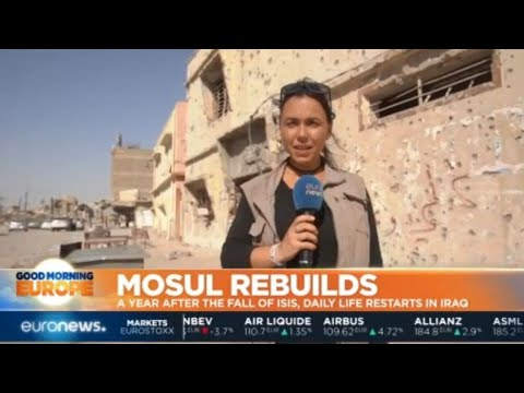 Mosul Rebuilds: A year after ISIS leave, 800,000 residents return to city