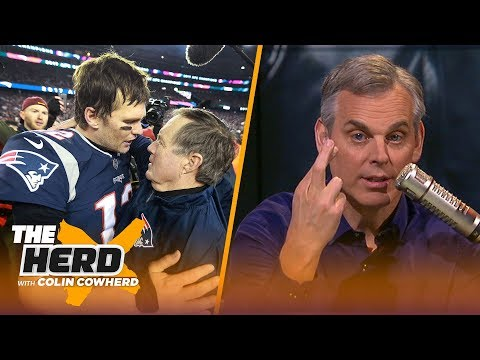 Colin Cowherd on the Patriots dynasty possibly ending and QBs gaining more power | NFL | THE HERD