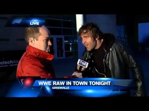 Funny Dean Ambrose Interview (December 8th, 2014 Fox Carolina)