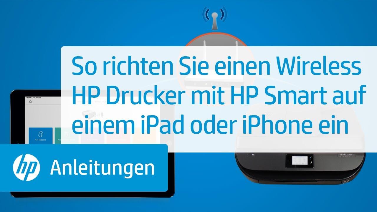 HP Drucker - Installieren und Verwenden der HP Smart App (Android