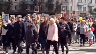 Фрагменты праздника 9 Мая в Барановичах
