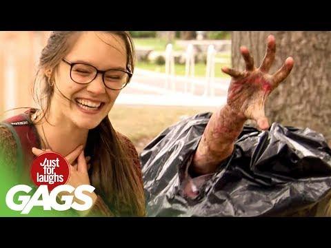 Severed Arm Bursts Out Of Garbage Bag