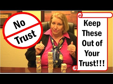 Estate Planning Phoenix AZ ~ To Trust or Not to Trust 480-503-0050