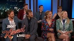 Jimmy Kimmel Interviews Dark Phoenix Cast