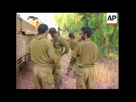 WRAP Israeli Troops On Both Sides Border As Intense Fighting W Hezbollah Continues