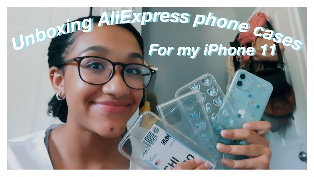 Unboxing AliExpress phone cases for my iPhone 11