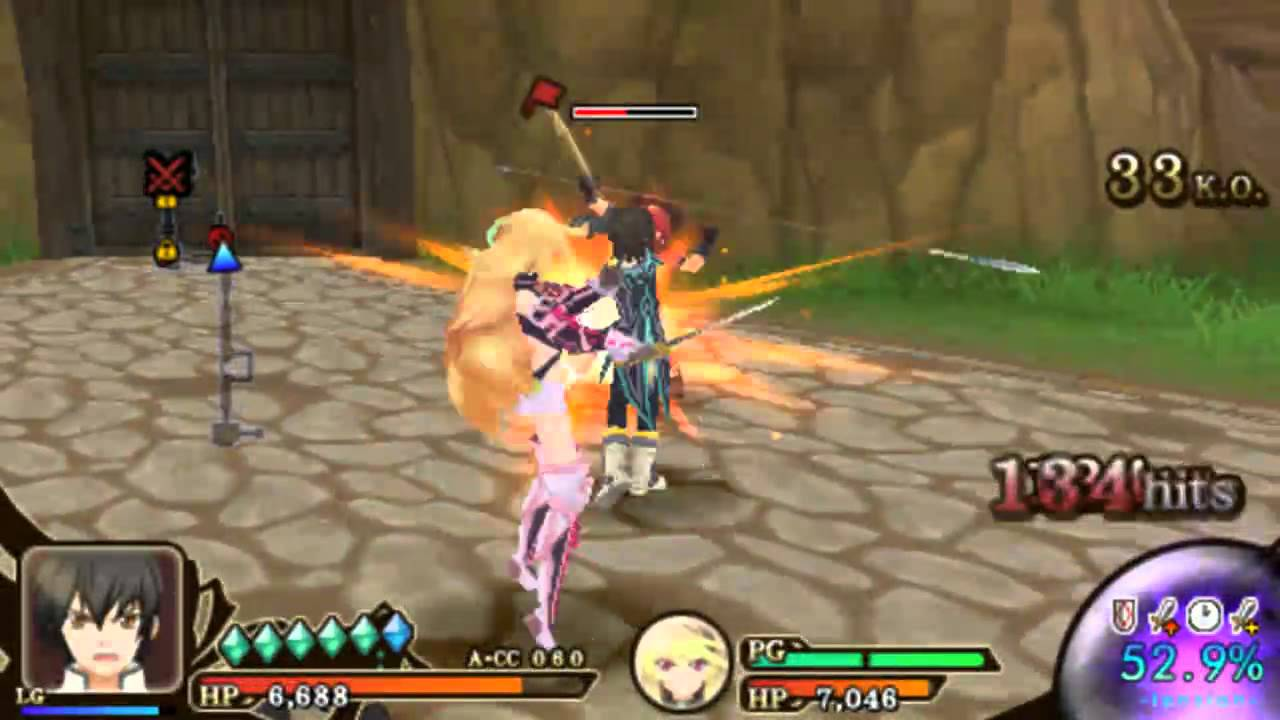 Download Tales of the Heroes: Twin Brave (PSP) - Jude Story 「1st Mission」