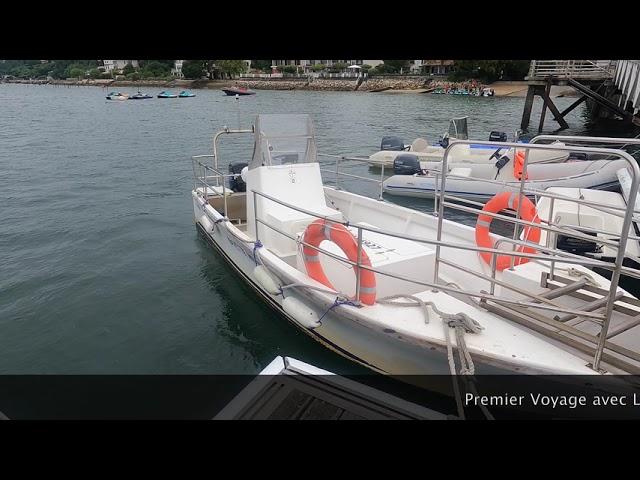 Pacific Craft 700 Sun Cruiser  11 Aller au corps mort en Navette Grand Piquey, Cap Ferret